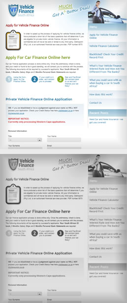 Portfolio - Vehicle Finance South Africa 1
